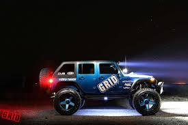 jeep matte black grid offroad gf9 blue matte black jeep wrangler jk ultimate wheel