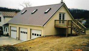 3 Car Detached Garage Plans by Steel Building With Loft This Is A 3 Car 30x36 Garage With An