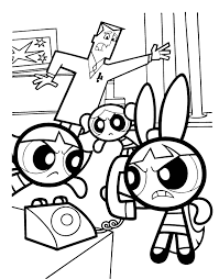 Powerpuff Girls Printable Coloring Pages Coloring Pages Power Puff Coloring Page
