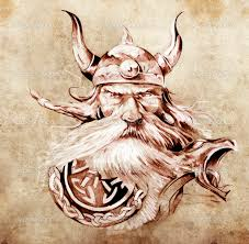 old viking tattoo sketch in 2017 real photo pictures images and