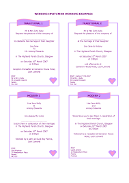 wedding invitations sles sles of wedding invitations wording popular wedding