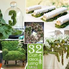 32 crafts ideas using moss the scrap shoppe