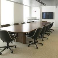 Executive Meeting Table Dark Brown Executive Adjustable Meeting Room Without Arms And