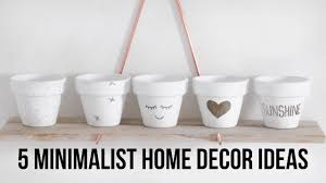 5 minimalist diy home decor ideas pinterest inspired