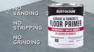 Sandpaper For Concrete Floor by How To Use Rocksolid Garage U0026 Concrete Primer For Previously