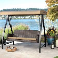 Swing Patio Chair Swing Patio Furniture L Patio Swing Canopy Cover Backyard And