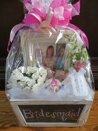 customized gift baskets will you be my bridesmaid gift basket each gift was customized