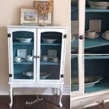 custom order new color armoire chalk painted black pepper color