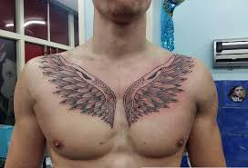 wing tattoos on chest designs ideas and meaning tattoos for you