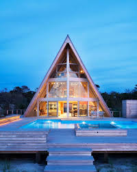 aframe homes 7 breathtaking contemporary a frame homes architectural digest