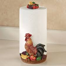 themed paper towel holder interior design top fruit themed kitchen decor excellent home