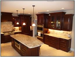 granite colors that look good with cherry cabinets painting