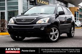 lexus rx 350 hybrid used 2006 lexus rx 400h hybrid awd cuir toit for sale in