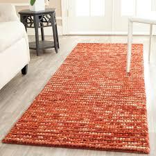 Jute Area Rugs Safavieh Bohemian Woven Rust Wool Jute Area Rug Boh525c