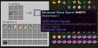 Enchanting Table Recipe Overview Advanced Combat Mods Projects Minecraft Curseforge