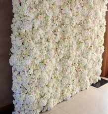 wedding backdrop flower wall one of our gorgeous easy to put reusable silk flower walls