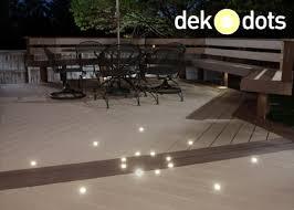 Patio Floor Lighting Dekor Dek Dots Recessed Led Deck Lights