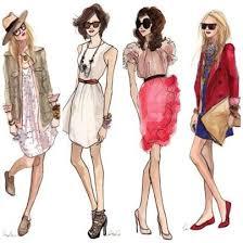 design mode croqui mode filles