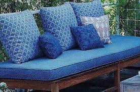outdoor bench seat cushions treenovation