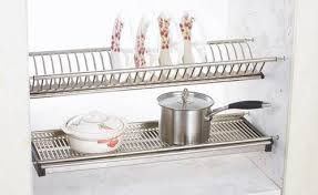 Kitchen Cabinet Dish Rack Sell Kitchen Cabinet Stainless Steel Dish Rack Id 18748474 From