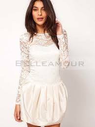 robe de mariã e pas chã re white dresses robe blanche courte vintage