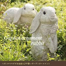 rabbit garden fcinterior rakuten global market rabbit garden ornament m