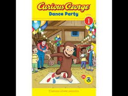curious george dance party based books rey