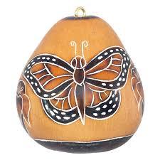 monarch butterflies gourd ornament lucuma designs