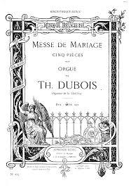 messe de mariage messe de mariage dubois théodore imslp petrucci library