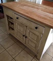 broyhill kitchen island broyhill attic heirlooms butcher block kitchen island in white stain