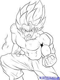 goku super saiyan 4 coloring pages images isaiah birthday