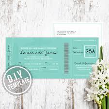 diy beach and starfish destination wedding invitation boarding