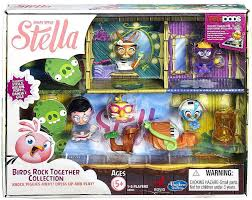 angry birds stella telepods birds rock figure collection