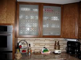 Design Kitchen Cabinet Glass Kitchen Cabinet Doors Awesome Modern Frosted Door With Brown