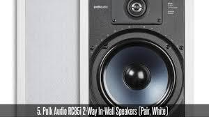home theater wall speakers best ceiling u0026 in wall speakers top 30 best ceiling u0026 in wall