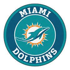 Area Rugs Miami Dolphins Logo Roundel Mat 27