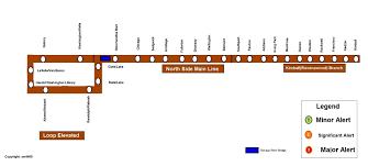 Pink Line Chicago Map by Cta Rail Service Alerts Cta Rail Chicago Transit Forum