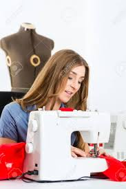 freelancer designer freelancer fashion designer or tailor working on a design or