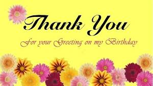 thank you message quotes greetings for birthday wishes
