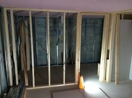 basement conversion in roundhay for work space u0026 shower