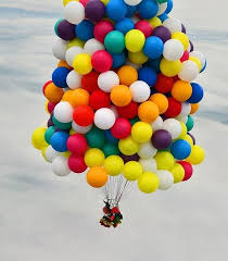 balloons for men a daredevil s attempt to cross the atlantic using helium balloons