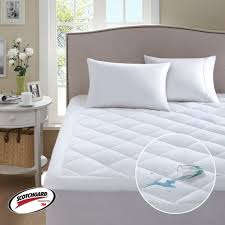 comfort classics 3m scotchgard harmony waterproof mattress pad