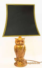 Owl Table Lamp Gilded Owl Table Lamp Vintage Info U2013 All About Vintage Lighting