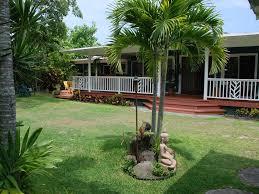 Backyard Guest Cottage by Hawaiian Plantation Home Wrap Around Decks Vrbo