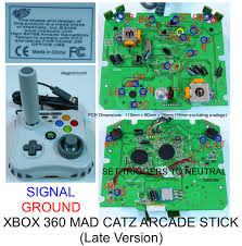 another quickshot madcatz360 twin stick build completed virtual