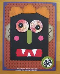 creative handmade cardboard crafting full moon and ghost and bats