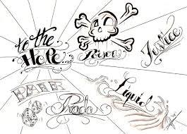 lettering tattoo designs tattoo love