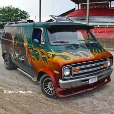 custom dodge vans custom dodge at the 43rd nats with destroyer ivan benic