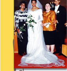 obama dresses president barack obama and s wedding dress story