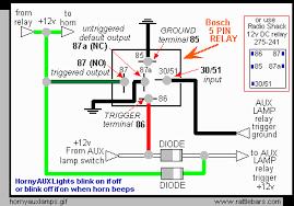chic idea bosch relay wiring diagram for horn